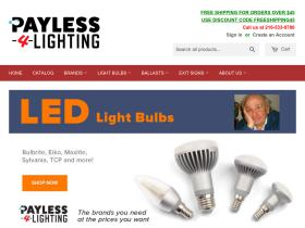 Payless-4-lighting.com Free Shipping Codes